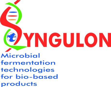 Syngulon logo + baseline